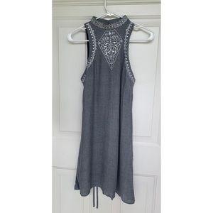 Love Fire - Sleeveless Dress w/ Embroidery